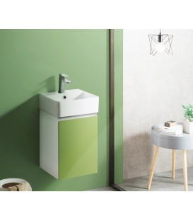 Mueble baño Bathco Hang Out 38cm verde