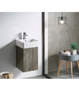 Mueble baño Bathco Hang Out 38cm wengué
