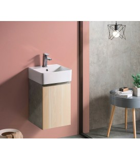 Mueble baño Bathco Hang Out 38cm roble