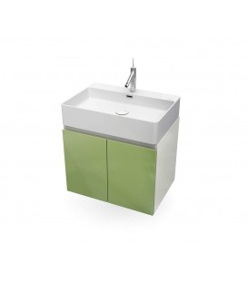 Mueble baño Bathco Hang Out 60cm verde