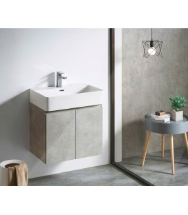 Mueble baño Bathco Hang Out 60cm cemento