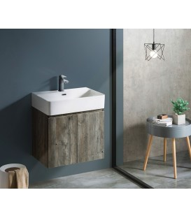 Mueble baño Bathco Hang Out 60cm wengué