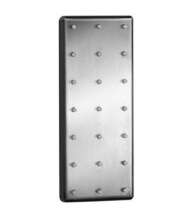 Jet lateral rectangular Galindo encastrable 70x170mm inox