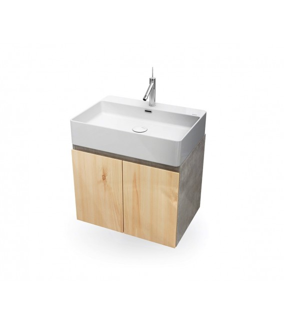 Mueble baño Bathco Hang Out 60cm roble