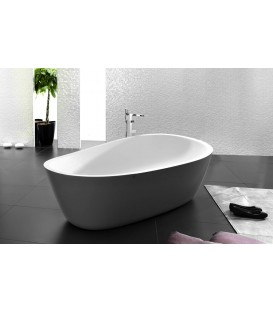 Bañera Krion SystemPool Almond 180x95 gris