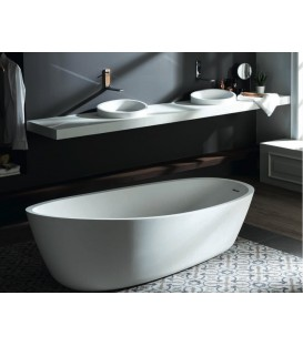 Lavabo Krion SystemPool Almond blanco
