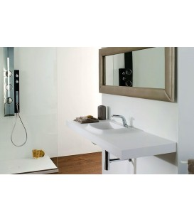 Lavabo Krion SystemPool SP Concept 159x50 blanco