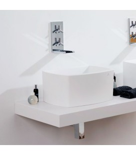 Lavabo Krion SystemPool SP Concept On Top 47x32 blanco