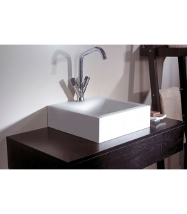 Lavabo solid surface Cazaña Box