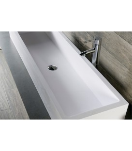 Lavabo solid surface Cazaña Monte Isola 100