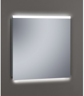 Espejo Design Glass Boreal con luz LED interior 80x80 cm