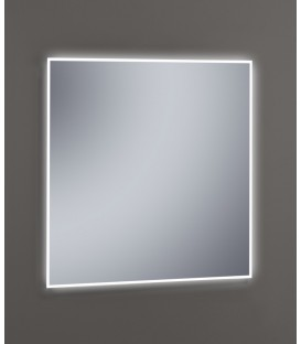Espejo Design Glass Canaima con luz LED interior 80x80 cm
