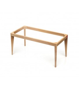 Patas madera rectangulares Bathco Mood