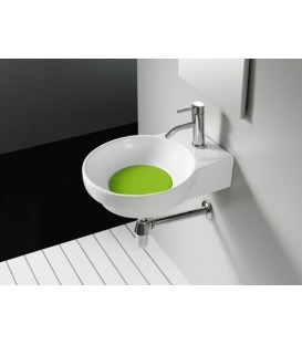 Tapa color para lavabo Bathco Marsella verde