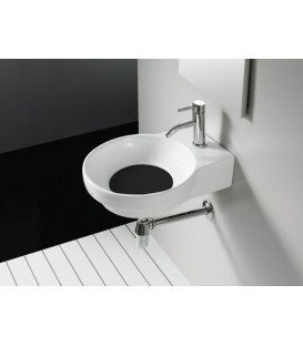 Tapa color para lavabo Bathco Marsella negro